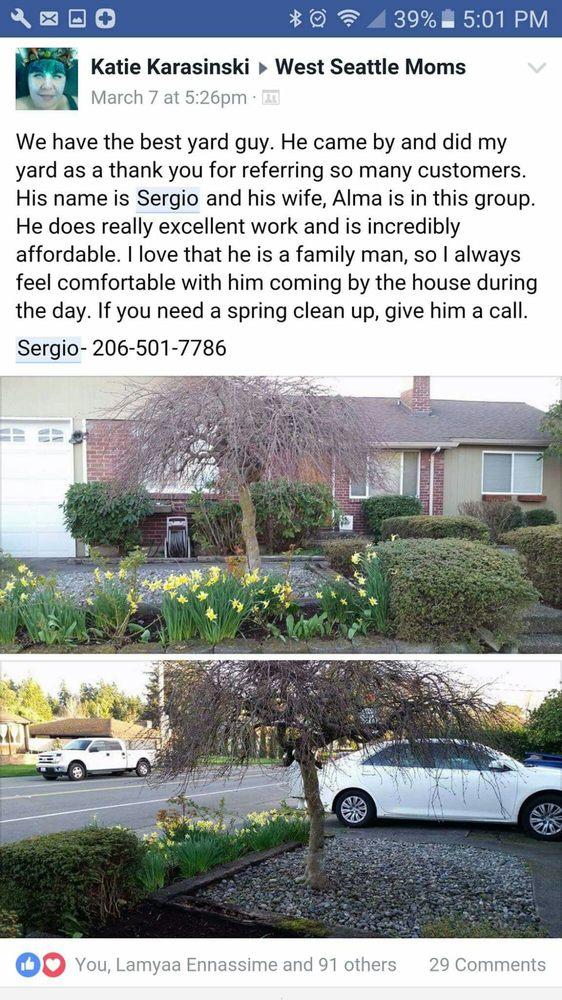I DO YARD Maintenance: 16211 19th Ave SW, Burien, WA