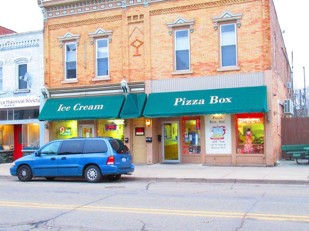 Pizza Box: 142 W Main St, Morenci, MI