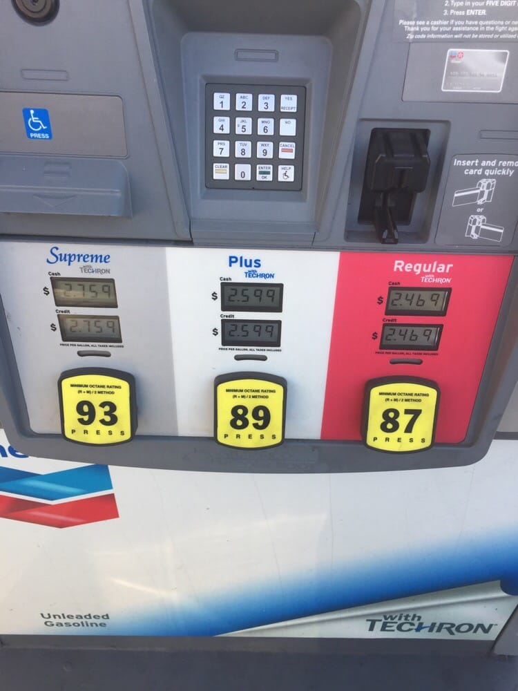 Chevron: 1000 SW 27th Ave, Miami, FL