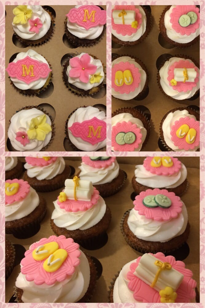 Spa themed cupcakes Yelp