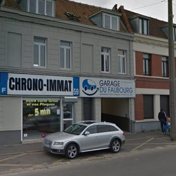 Chrono immat services d 39 immatriculation 109 rue du for Garage lesaffre faches thumesnil avis