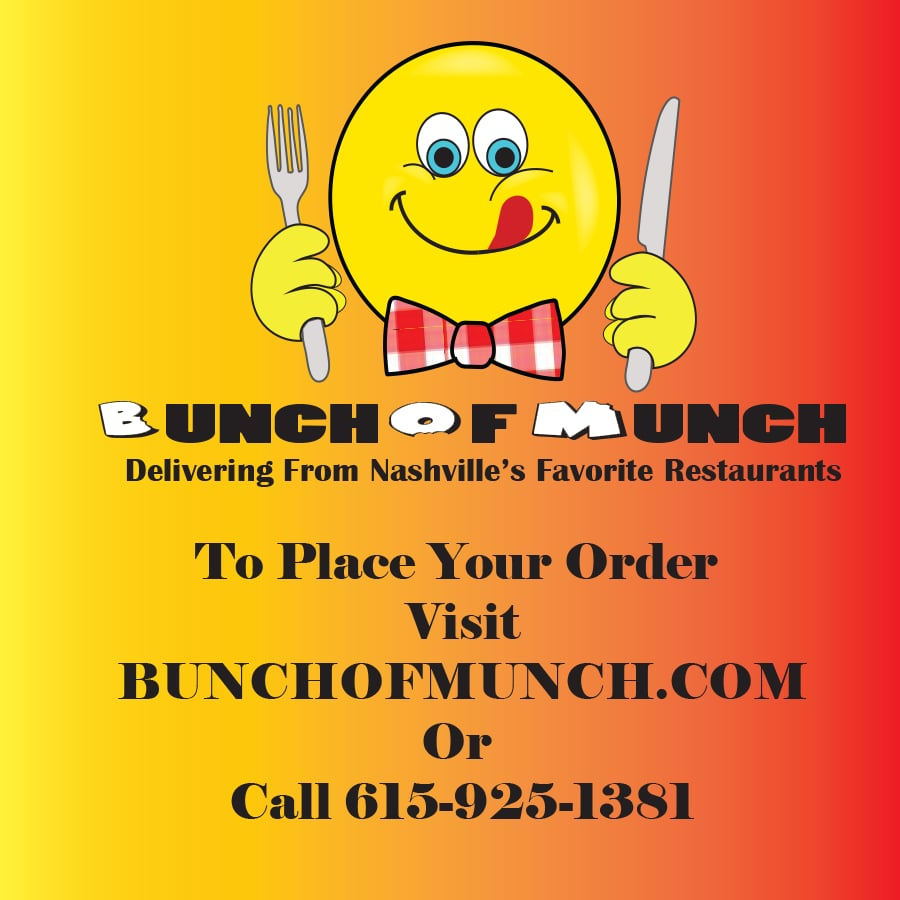 Bunchofmunch Delivery Service Closed Caterers 8207 Sawyer Brown Rd Bellevue Nashville Tn Phone Number Yelp