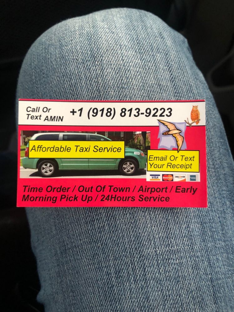 Affordable Taxi Services: Tulsa, OK