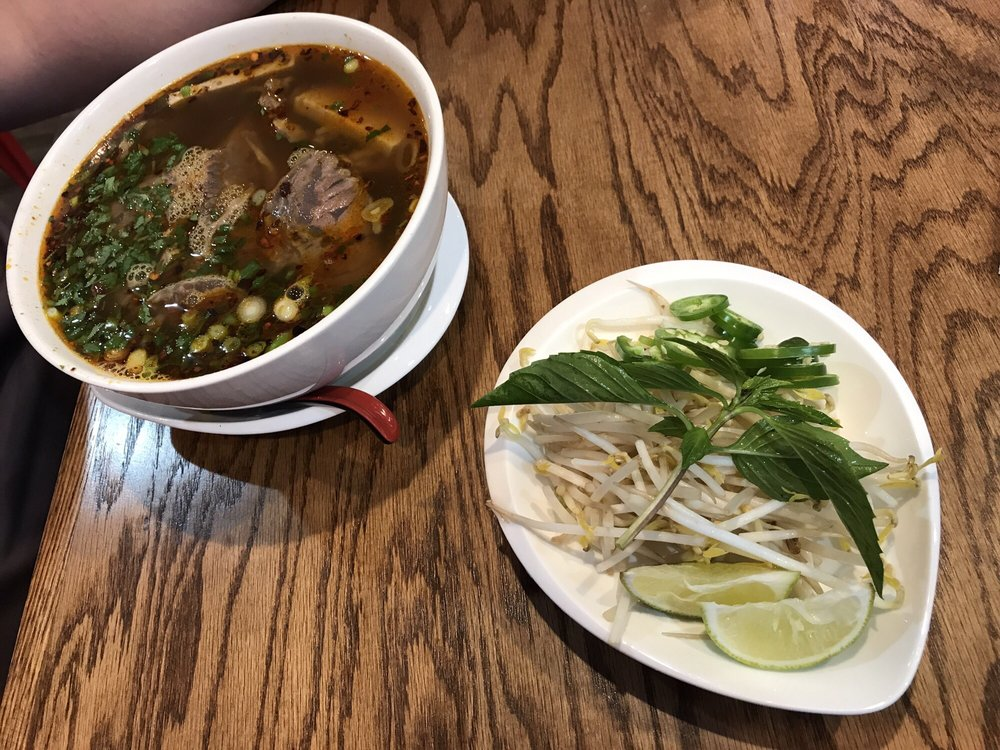 Oxtail Pho and Banh Mi