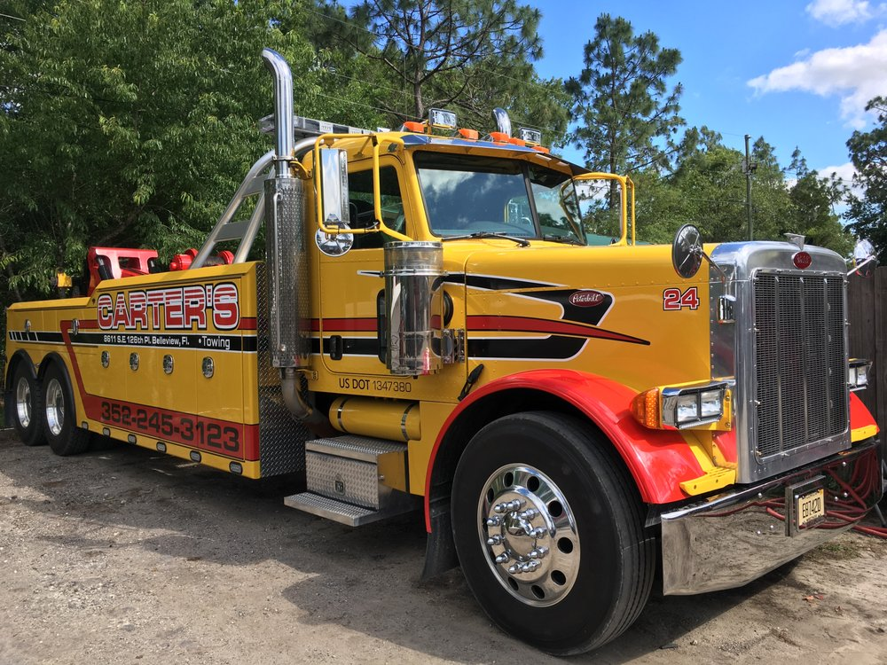 Carter's Towing & Recovery: 8611 SE 126th Pl, Belleview, FL