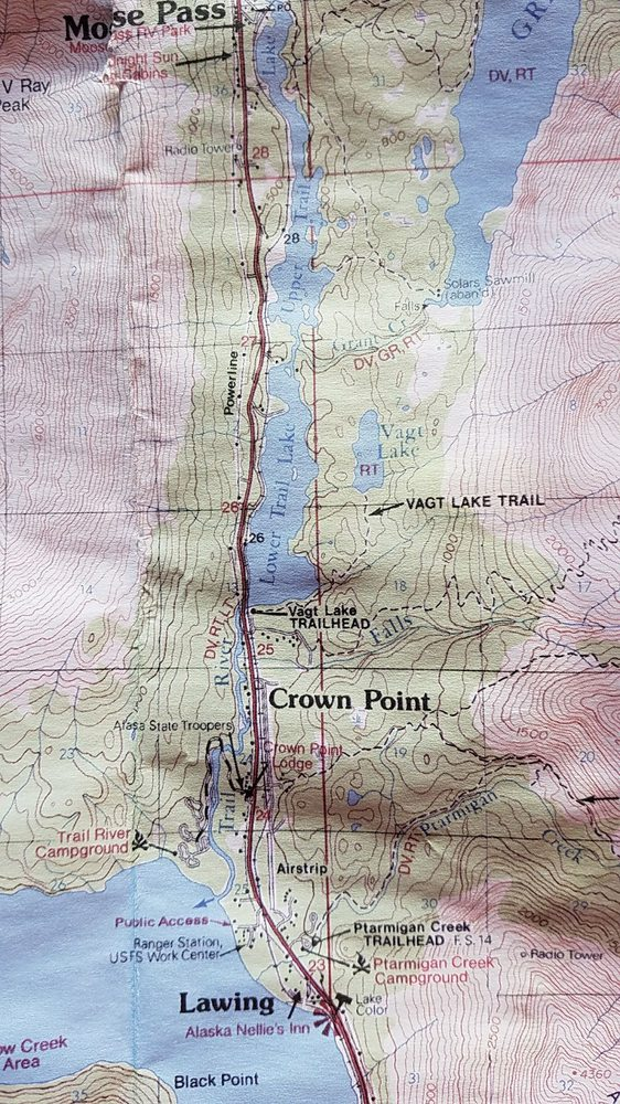 Trail River Campground: Mile 242 Seward Hwy Trail River Rd, Moose Pass, AK