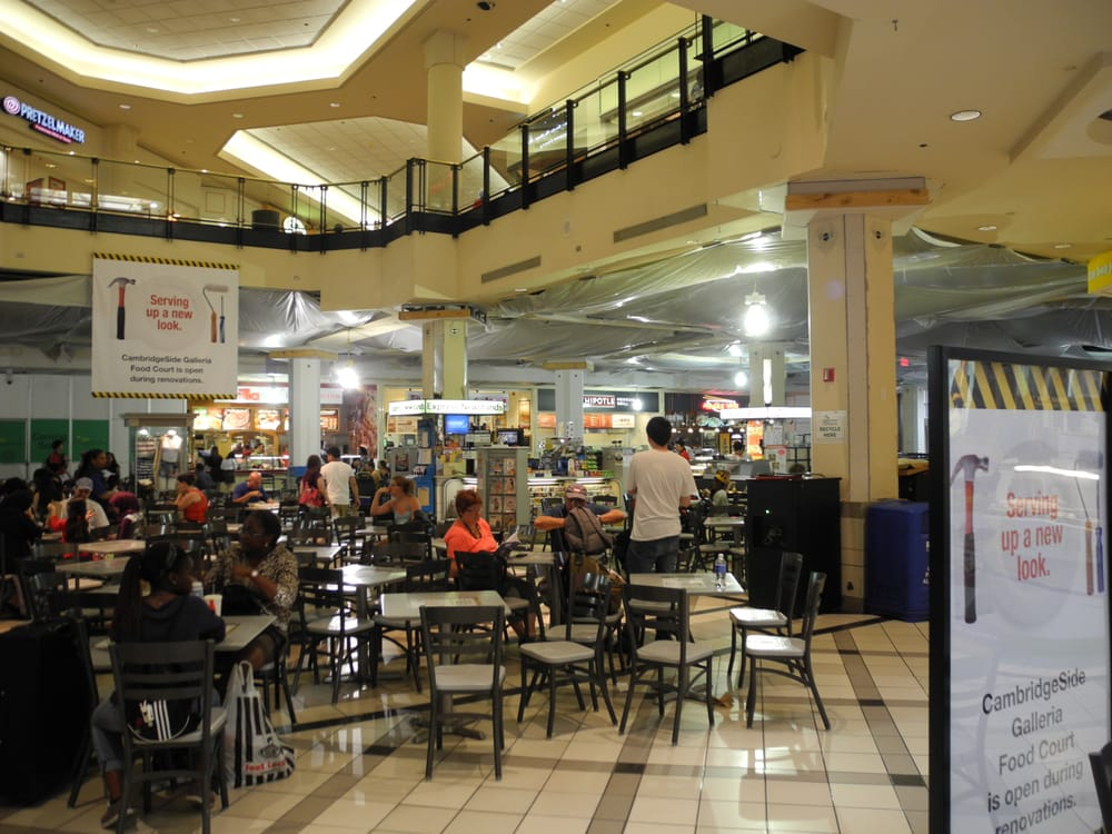 Cambridgeside Galleria Food Court
