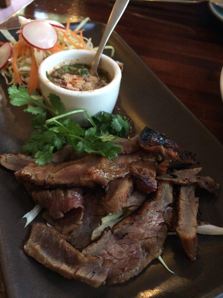 Flank steak with thai chili sauce yelp for 22 thai cuisine yelp