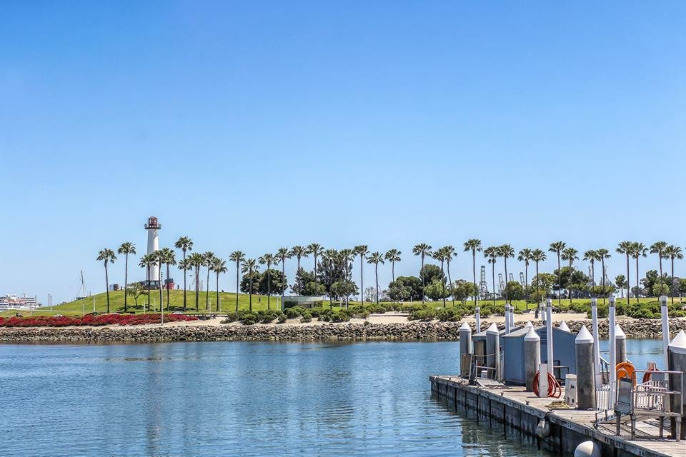 Aquarium Way Dock  Long Beach Ca