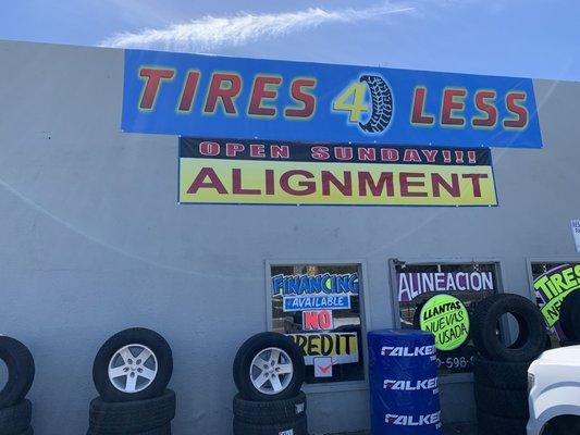 Tire For Less >> Tires 4 Less 2506 S Santa Fe Ave Vista Ca Tire Dealers