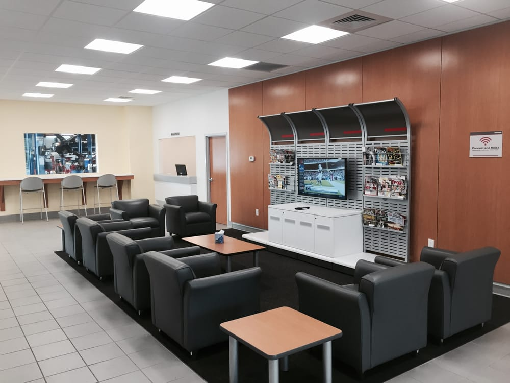 lee nissan customer lounge enjoy complimentary wifi coffee water and snacks yelp. Black Bedroom Furniture Sets. Home Design Ideas
