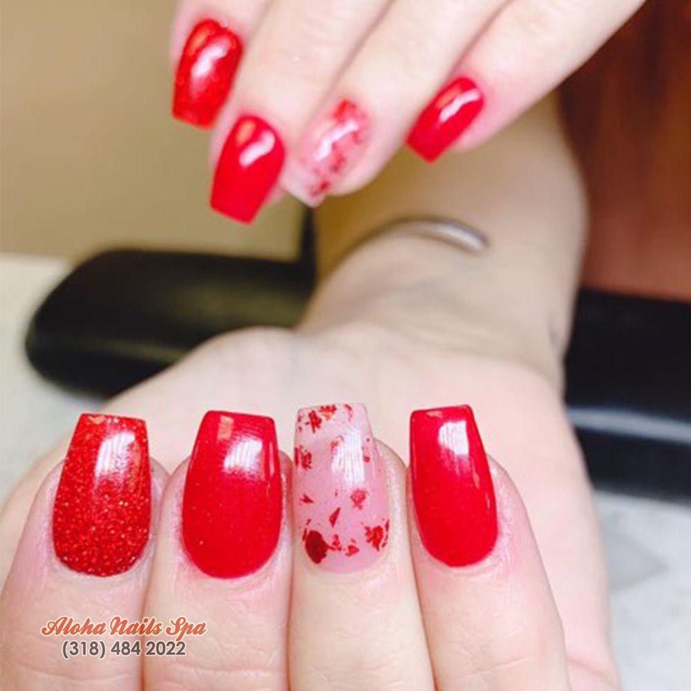 Aloha Nails Spa: 3640 North Blvd, Alexandria, LA