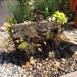 Photo Of Glover Nursery West Jordan Ut United States Gabion Wall Fountain