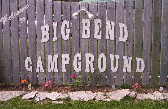 Big Bend Family Campground: 513 Conrad Rd, Standish, MI