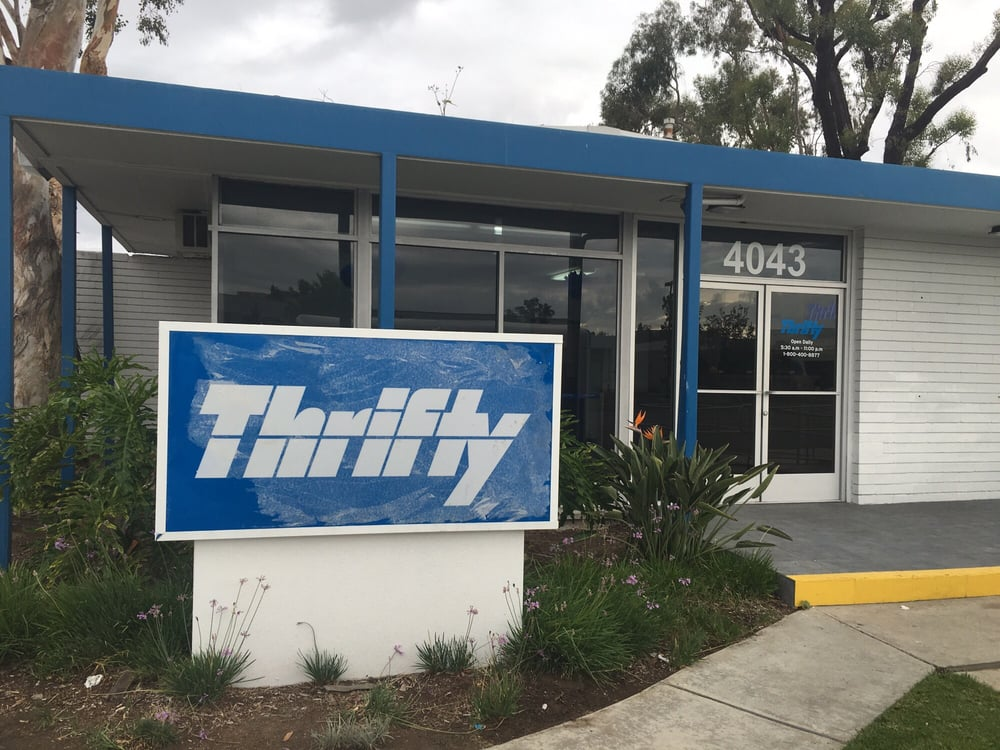 Thrifty Newport Beach Car Rental