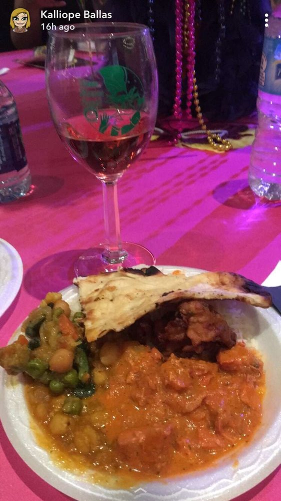 Sofia Rose' wine with Indian food! - Yelp