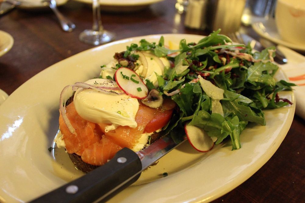 Smoked Salmon Toast From Their Sunday Brunch Menu Includes Bellini