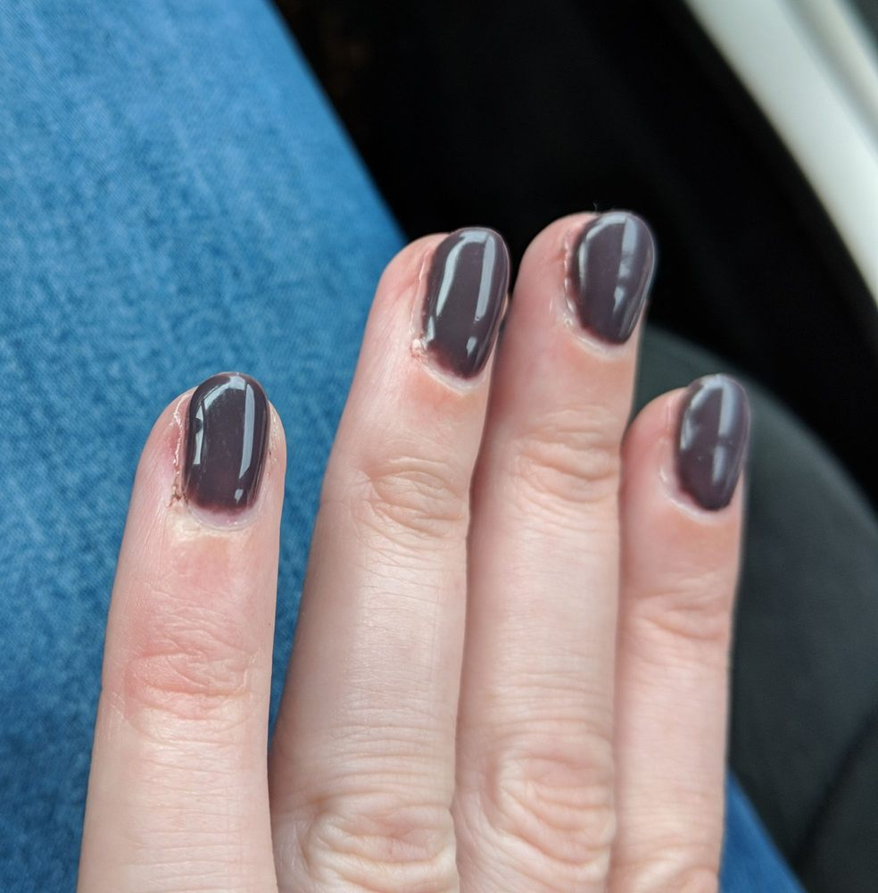 Golden Nail Salon: Day One, Hard To Tell Cuts On Pinky, Ring Finger, And
