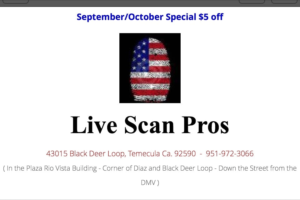Live Scan Pros Fingerprinting - CLOSED - Fingerprinting - 43015 ...