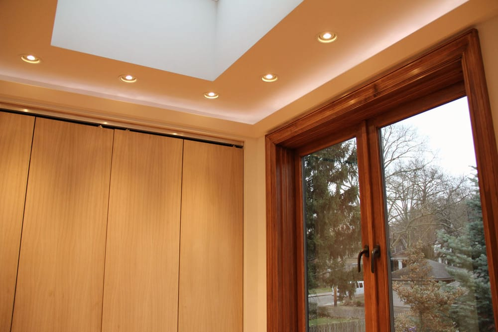 tray ceiling cove lighting skylight recessed fixtures yelp