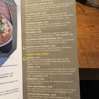 California Pizza Kitchen Menu california pizza kitchen - order food online - 425 photos & 300