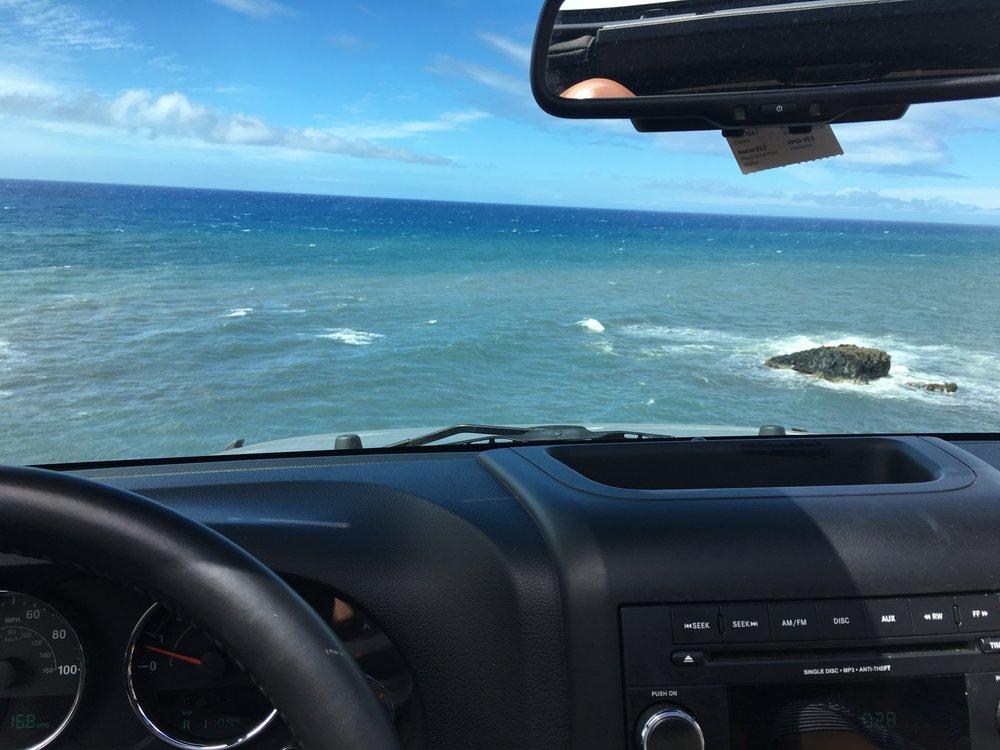 Alamo Car Rental Maui: Only Accessible Via 4 Wheel Drive.