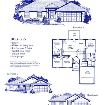 Adams homes builders 13061 hwy 67 biloxi ms united for Adams homes plans