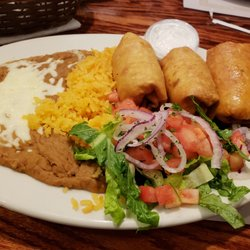 Photo Of Omega Restaurant Milwaukee Wi United States The Shrimp Chimichanga Dinner