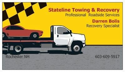 Towing business in Somersworth, NH