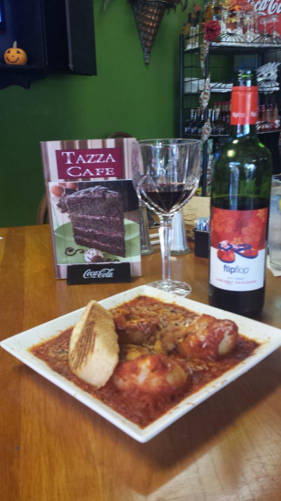 Tazza Cafe Hendersonville Tn Menu