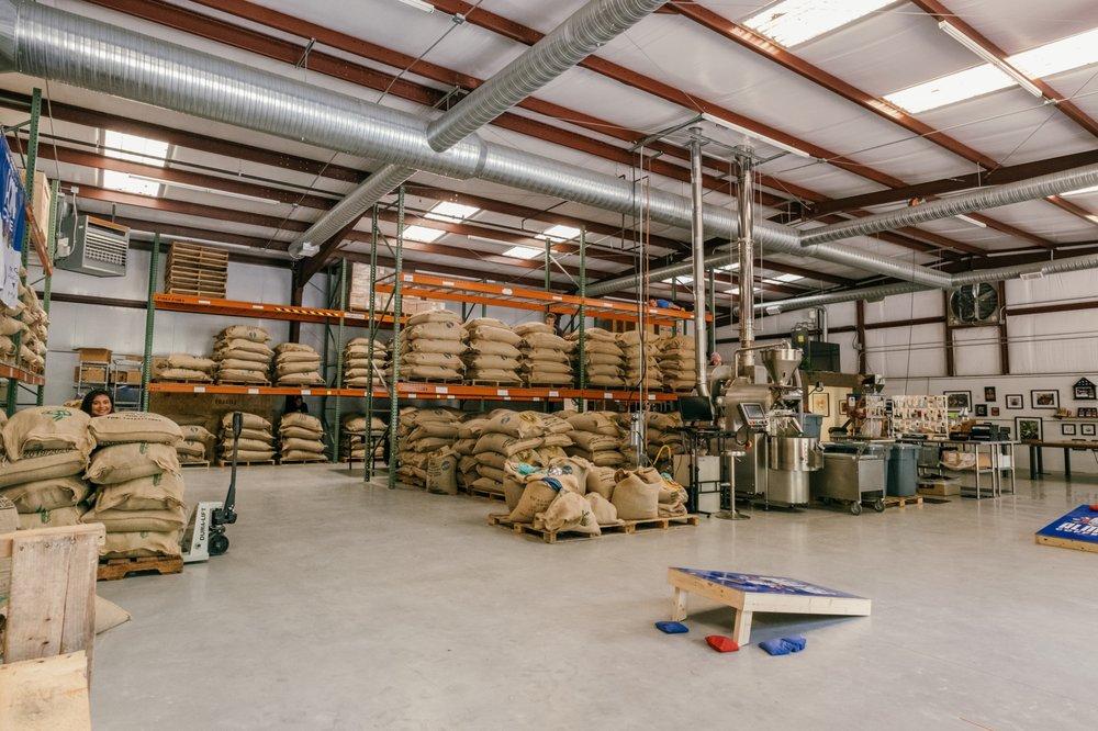 Alma Coffee Roastery: 3448 Holly Springs Pkwy, Canton, GA
