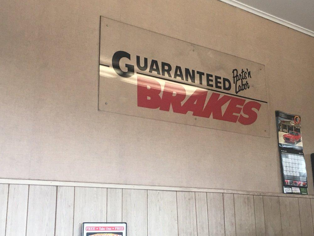 Guaranteed Brakes