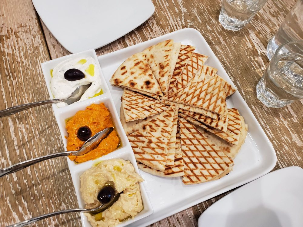Avli The Little Greek Kafe: 38-29 Bell Blvd, Bayside, NY