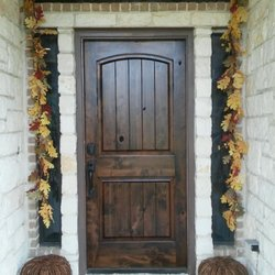 Photo Of D Squared Door Refinishing   New Braunfels, TX, United States. Dark