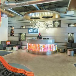 Photo Of Aloft Greenville Downtown Sc United States Motor Lobby