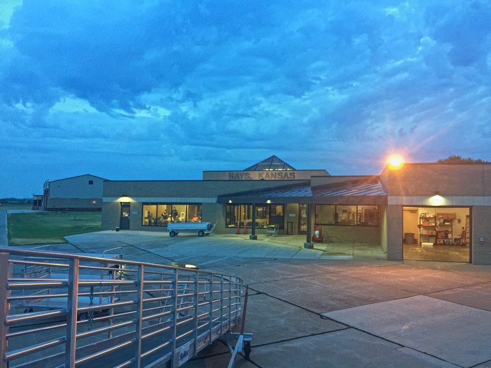 Hays Regional Airport: 3950 E 8th, Hays, KS