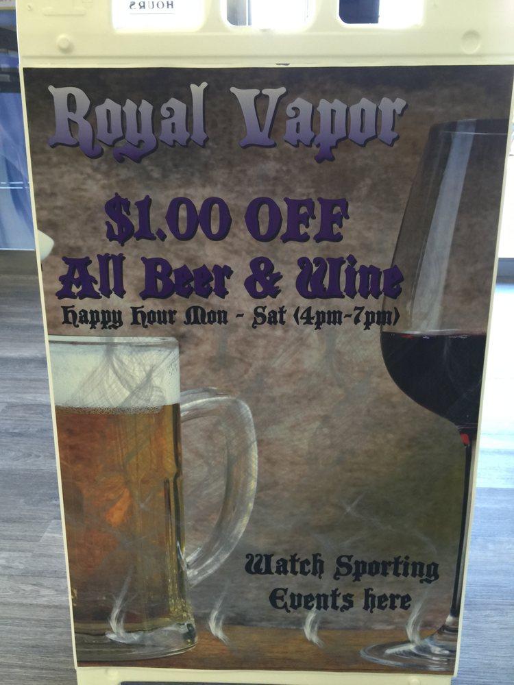 Royal Vapor Lounge: 1350 Missouri Ave N, Largo, FL