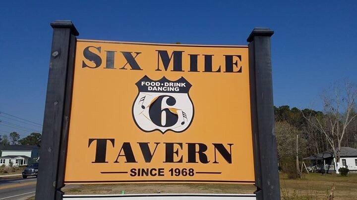 Six Mile Tavern: 2205 Rifle Range Rd, Mount Pleasant, SC