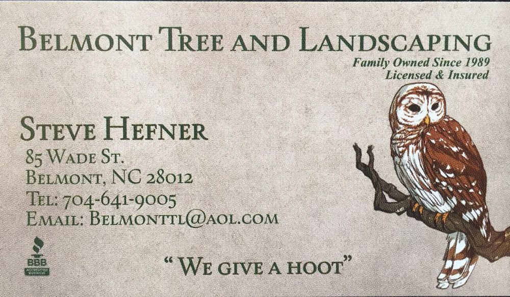 Belmont Tree and Landscaping: 85 Wade St, Belmont, NC