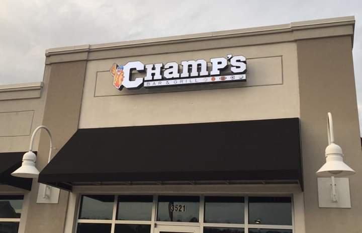 Champs Bar & Grill: 3521 Belle Terre Blvd, Myrtle Beach, SC