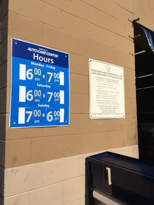 Walmart Auto Care Centers 3382 Murphy Canyon Rd San Diego Ca Tire