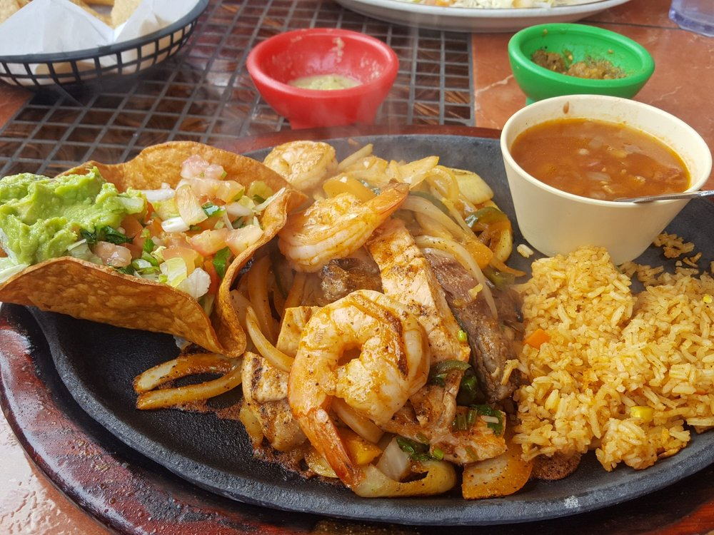 Food from Ericks Mexican Restaurant