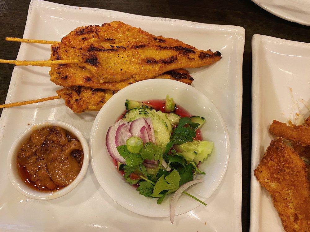 Food from Panang Thai Restaurant