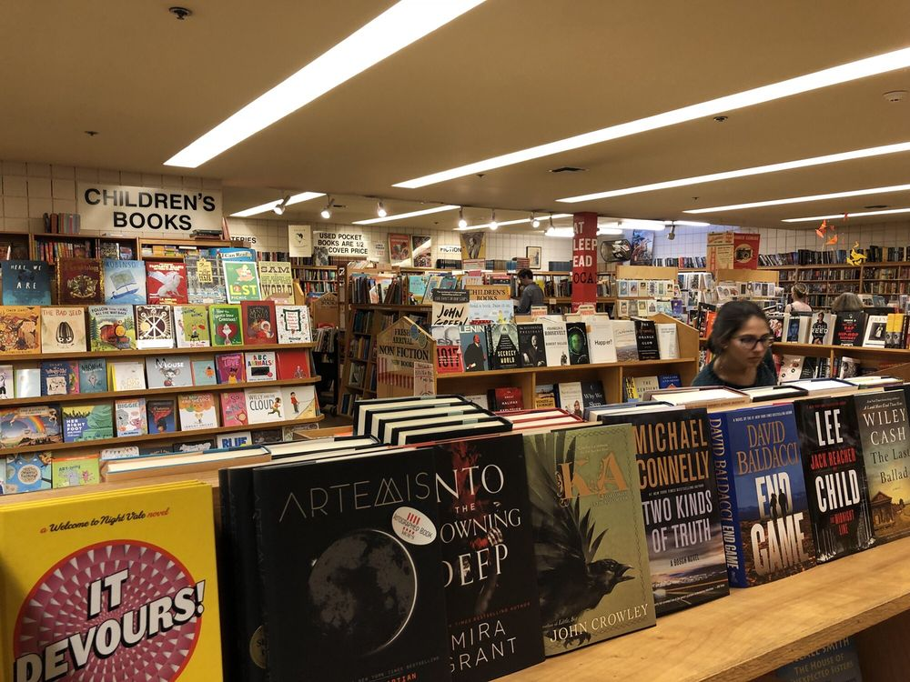 Moe's Books: 2476 Telegraph Ave, Berkeley, CA