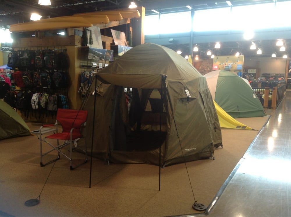 Photo of DICKu0027S Sporting Goods - Indianapolis IN United States. One of the & One of the Tents on Display on the 2nd Floor of Dicku0027s Sporting ...