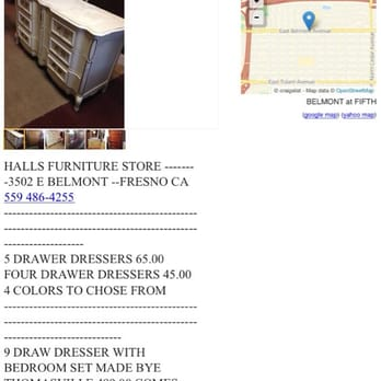 Photo Of Hallu0027s Furniture   Fresno, CA, United States. This Was The  Craigslist