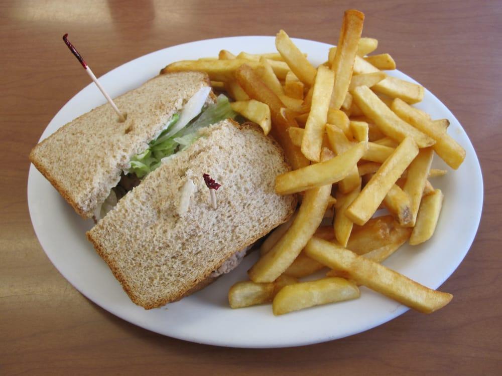 Aninimal Book: Tuna Sandwich and French Fries - Yelp