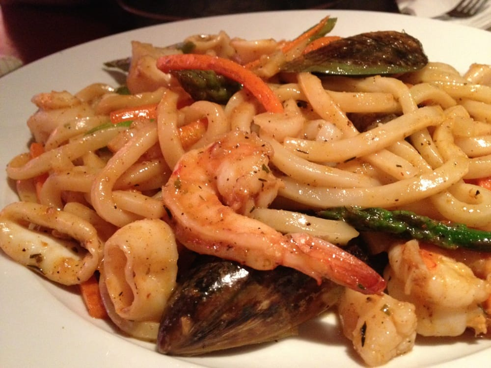 Spicy Seafood Udon Pasta - Yelp