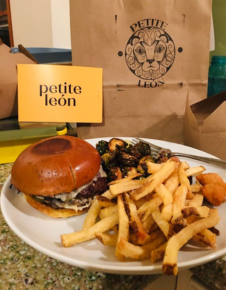 Food from Petite Leon