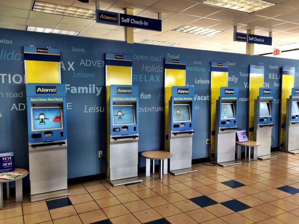 Alamo Car Rental Maui: Express Kiosks